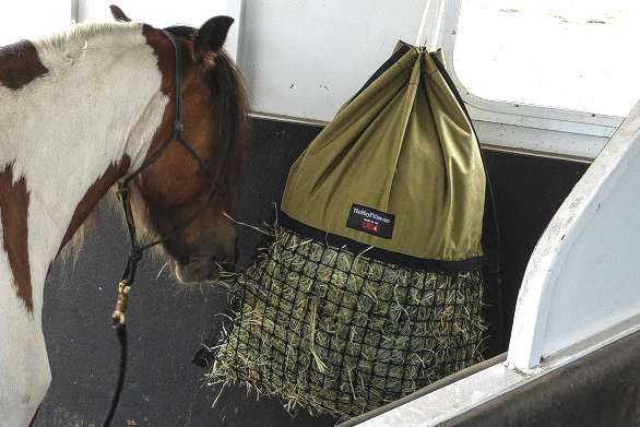 Best Small Travel Trailer >> Slow Feed Small Mesh Hay Net Alternative - Hanging Hay Pillow