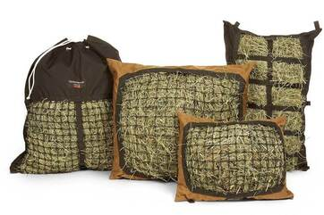 The Hay Pillow Product Line - Standard, Mini, Hanging & Manger