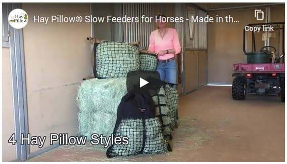Hay Pillow Slow Feeders - Top Features Video