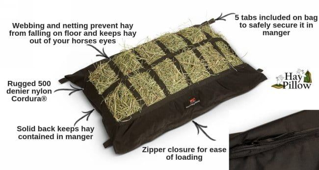 5 features & benefits of the horse trailer manger hay pillow feeder